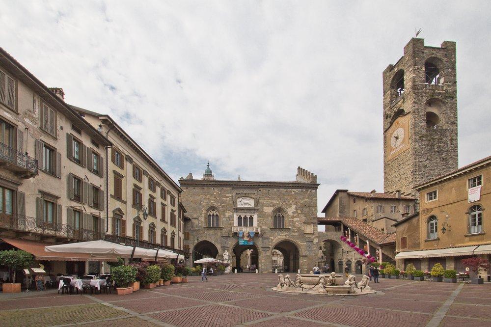 Piazza Vecchia Bergamo Citta Alta