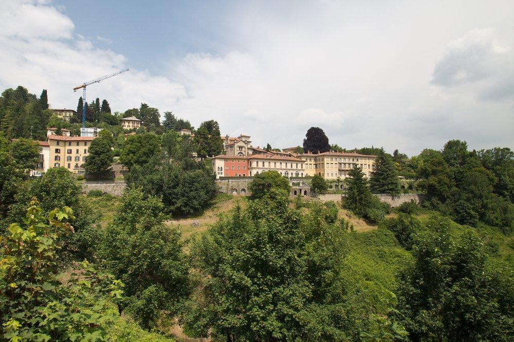 Bergamo Altstadt