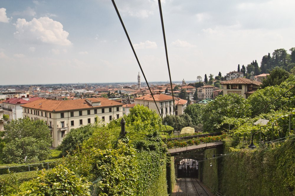 Funicolare Bergamo Standseilbahn
