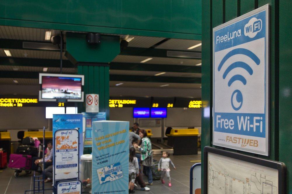 Free Wifi Flughafen Bergamo Airport