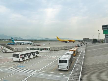 Vorfeld Apron Bergamo Airport