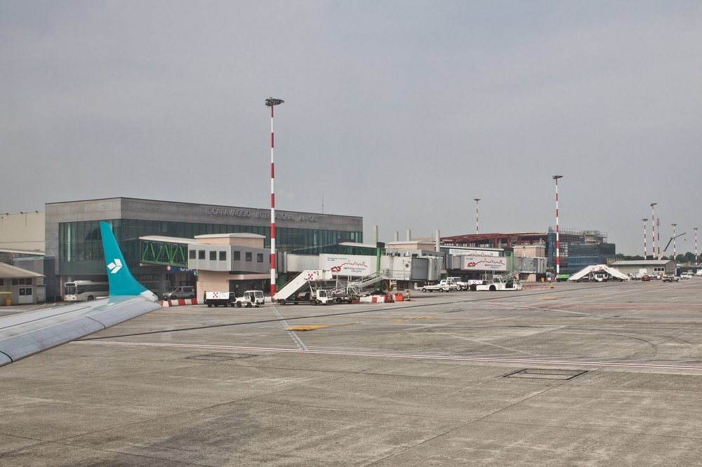 Flughafen Bergamo Airport Terminal