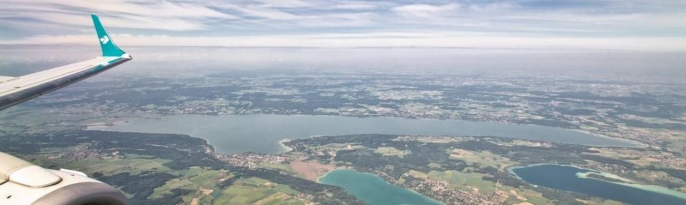 Ammersee Pilsensee Wörthsee Luftbild