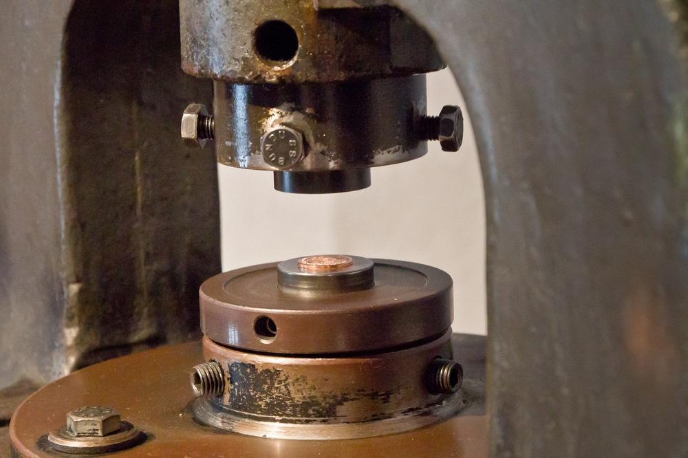 Münzen selber prägen Münzmuseum