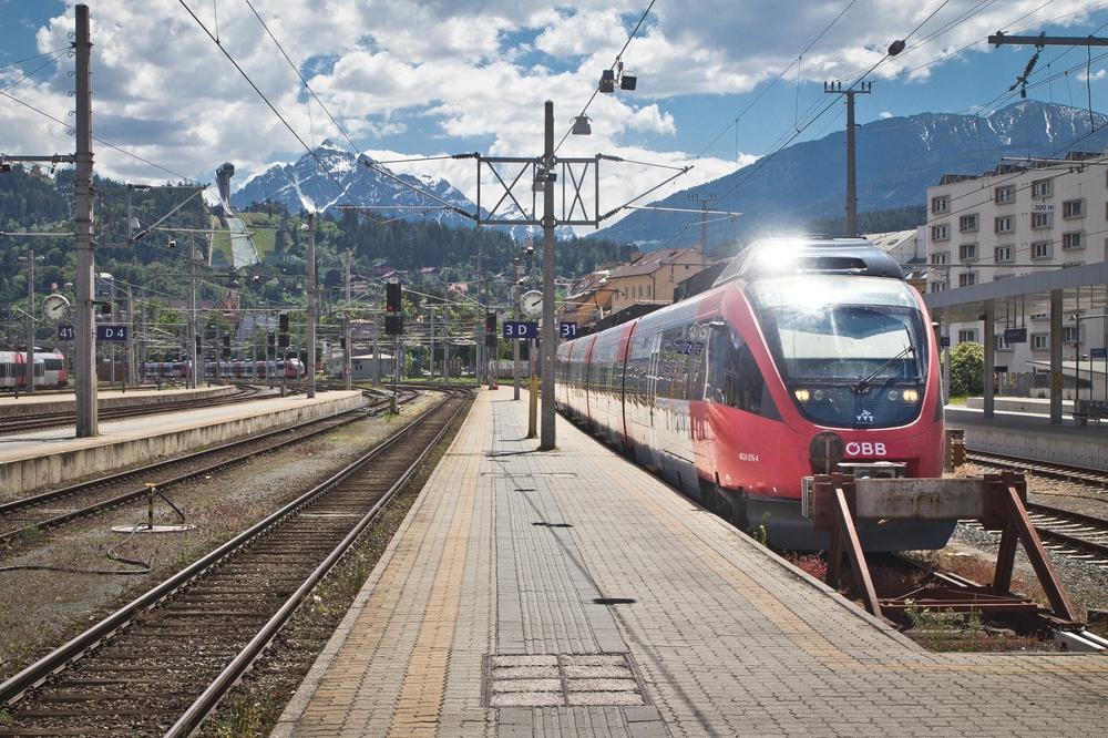 Bahnhof Innsbruck Bergiselschanze Vierschanzentournee