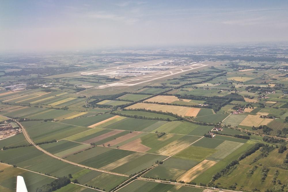 Luftbild Flughafen München