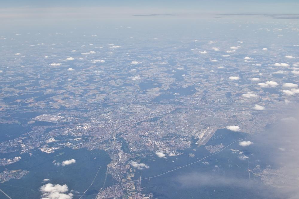 Luftbild Flughafen Nürnberg