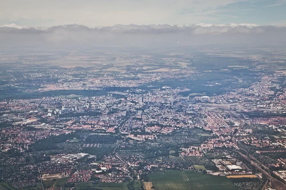 Luftbild Leipzig