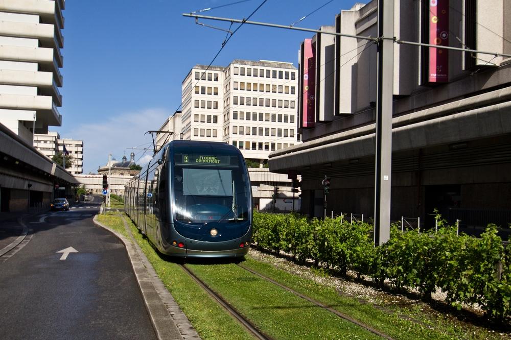 Straßenbahn Bordeaux Meriadeck