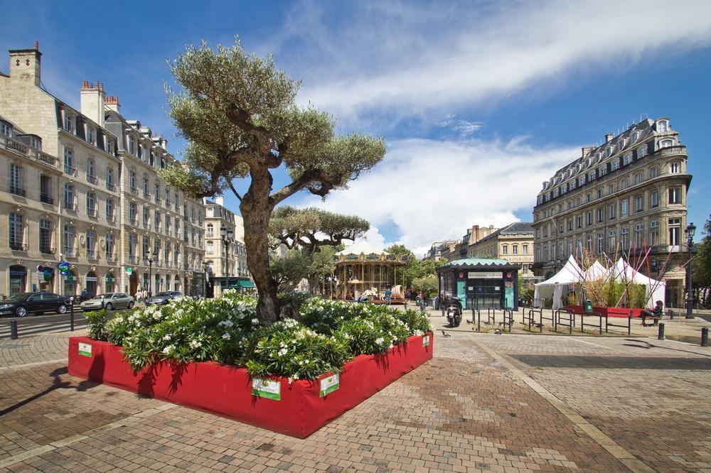 Innenstadt Städtereise Bordeaux