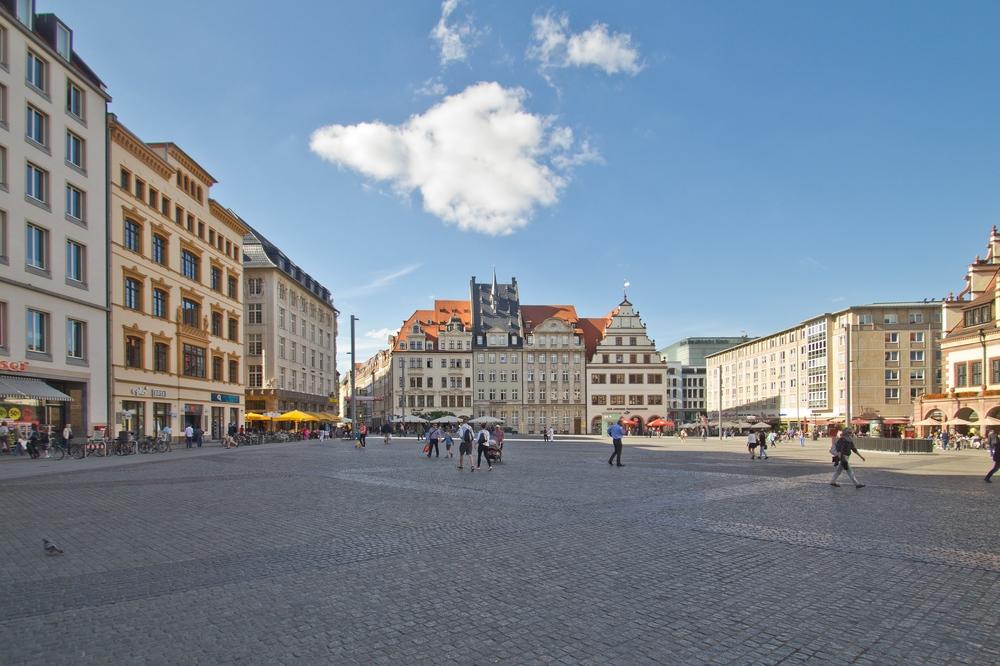 Markt Platz Leipzig