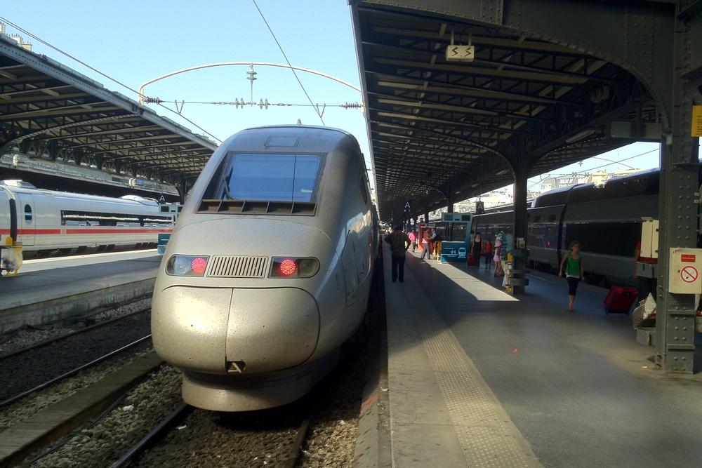 TGV München Paris