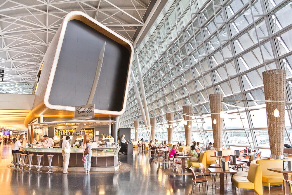 Architektur Flughafen Zürich