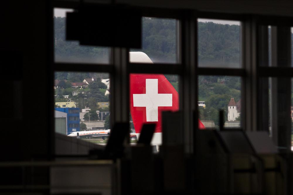 Leitwerk SWISS Flughafen Zürich