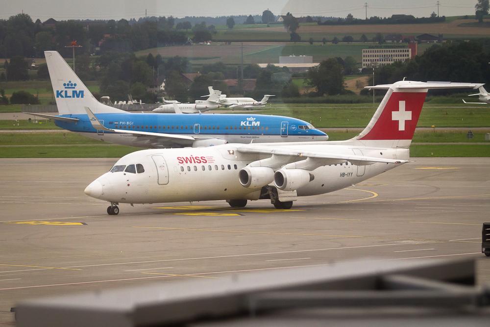 Acvo RJ Jumbolino SWISS Flughafen Zürich