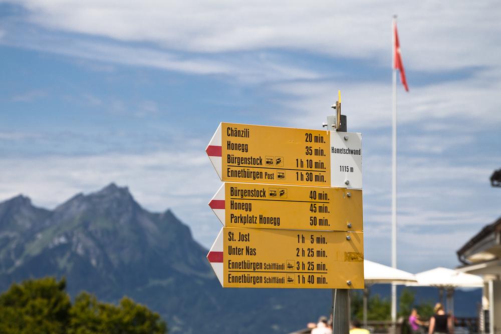 Aussichtspunkt Hammetschwand Lift Luzern Kanton