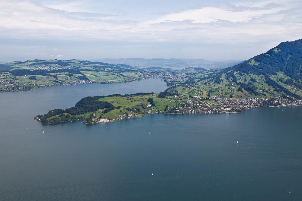 Vierwaldstättersee Luzern Luftbild