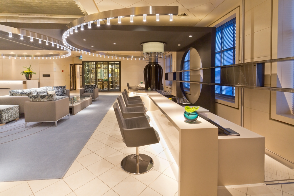 MS Europa 2 Interior Reception Lobby Bar