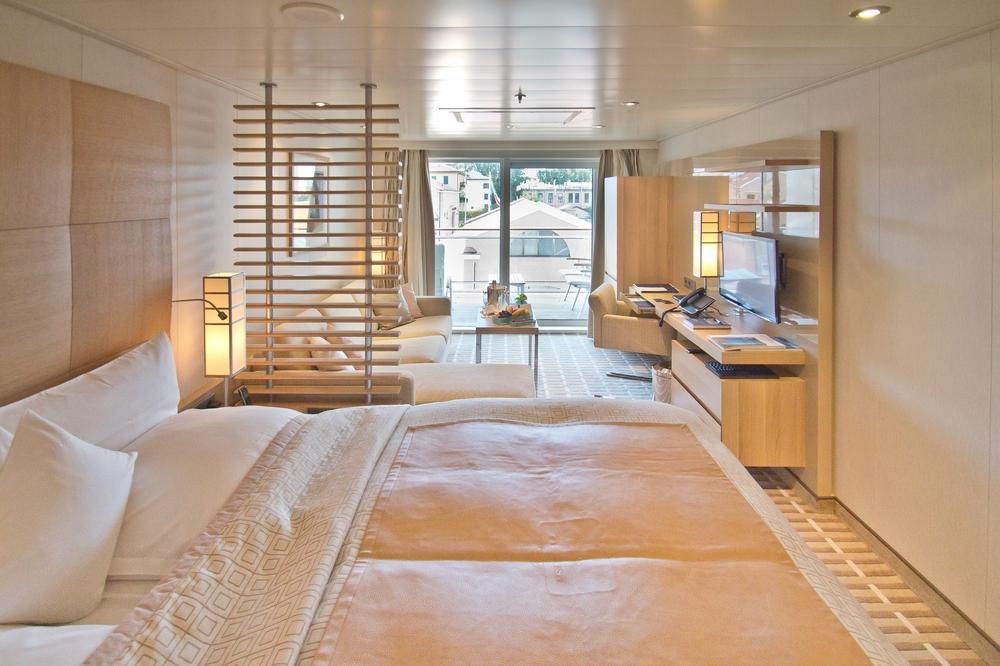 MS Europa 2 Veranda Suite Deck 5