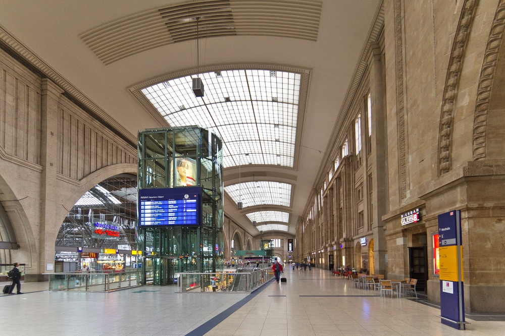 Hauptbahnhof Leipzig Bahnhofshalle