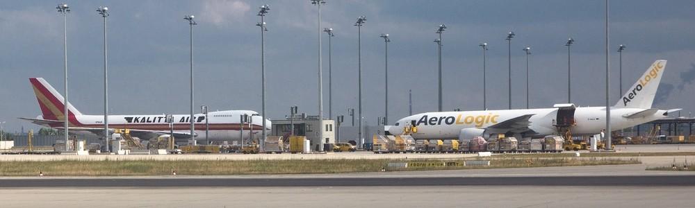 Kalitta Aerologic Cargo Flugzeuge Leipzig Flughafen