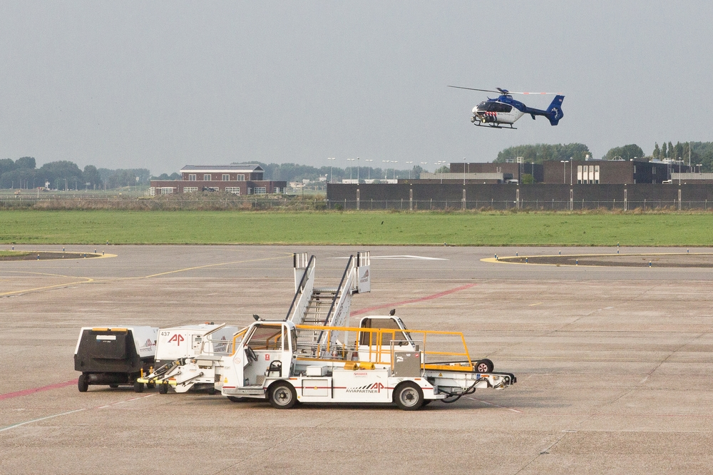 Helikopter Rotterdam The Hague Airport