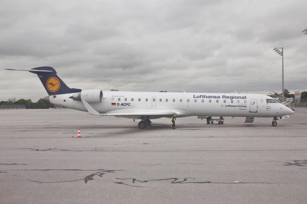 Bombardier CRJ700 Lufthansa Flughafen München Airport