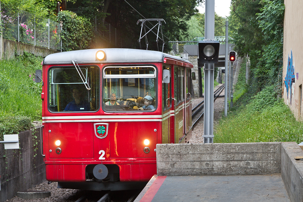 Dolder Bahn Zahnradbahn Zürich