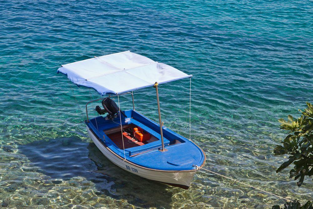 Wasser türkis Meer Kroatien Korcula