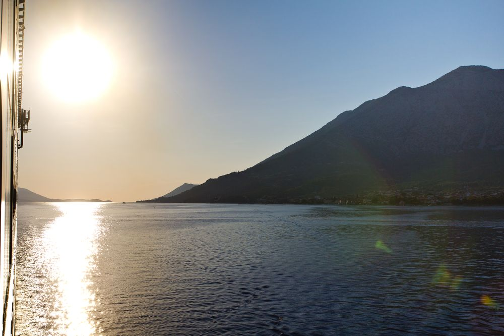 Sonnenuntergang MS Europa 2 Kreuzfahrt