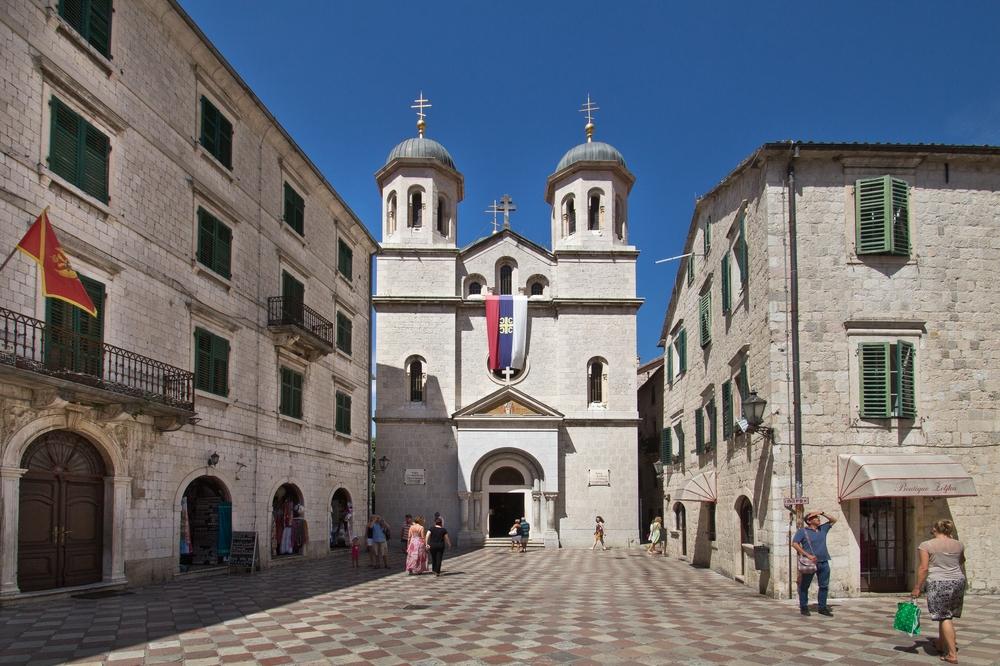 Serbisch-orthodoxe Kirche Heiliger Nikola Kotor Montenegro