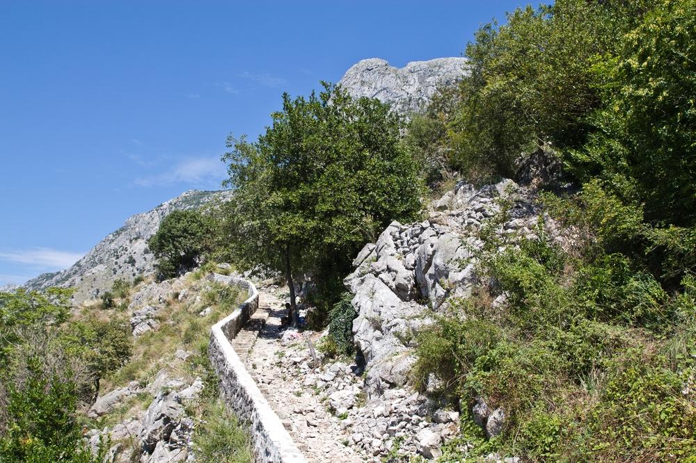 Besteigung Berg Kotor Montenegro Kreuzfahrt MS Europa 2