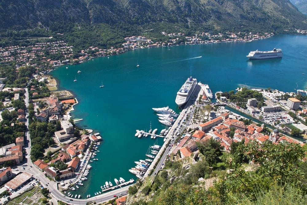 Aussicht Kotor Montenegro MS Europa 2
