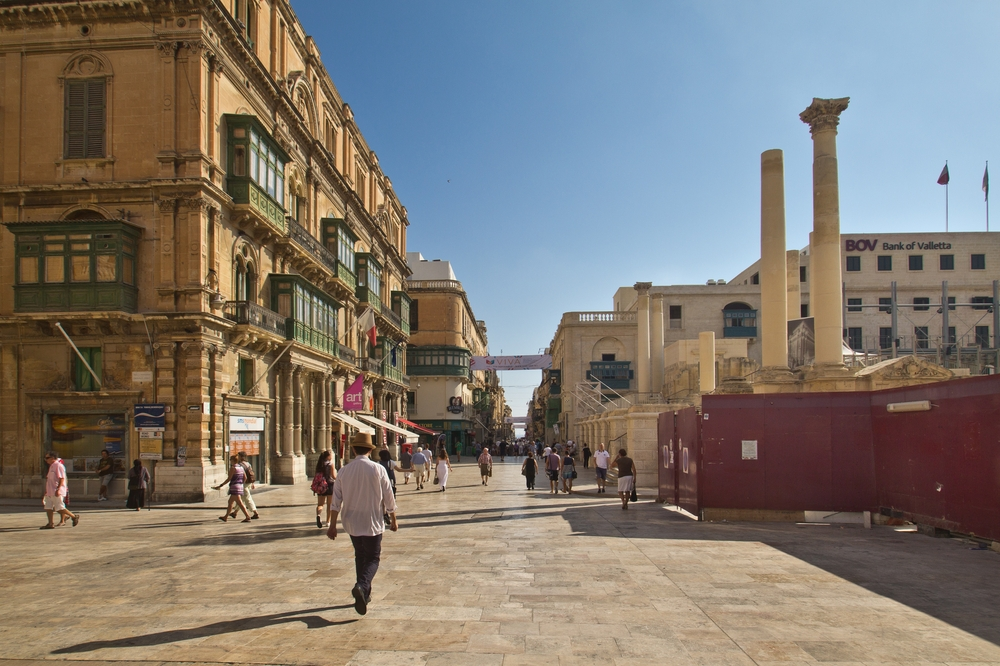 Republic Street Malta MS Europa 2 Kreuzfahrt
