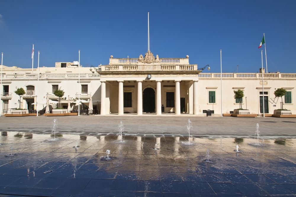 Main Guard Building St. George Platz, Malta Valetta