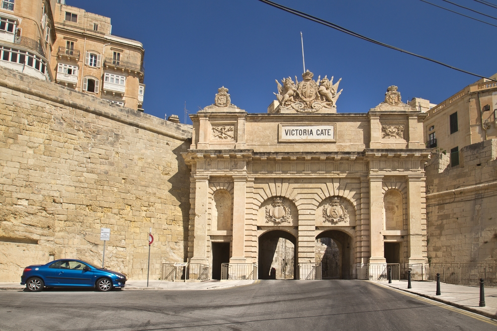 Victorias Gate Valetta Malta MS Europa 2 Kreuzfahrt