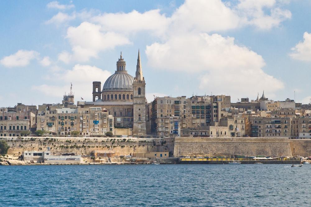 Skyline Waterfront Valetta MS Europa 2 Cruise