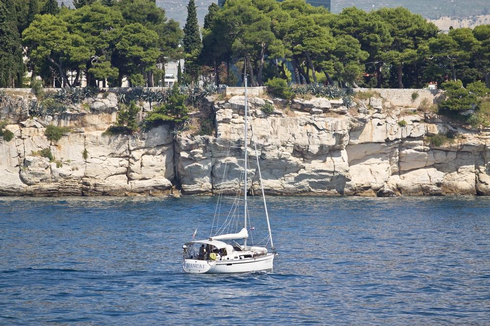 Segelschiff Kroatien Hafen Kreuzfahrt MS Europa 2