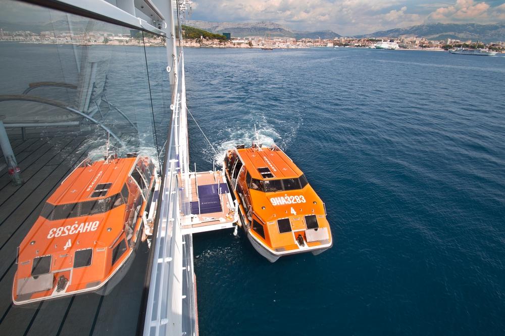 Kreuzfahrt Tender MS Europa 2 Kroatien Split