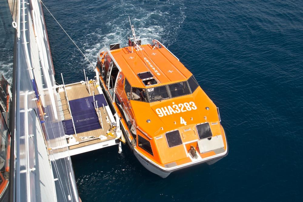 Tender Beiboot Rettungsboot MS Europa 2