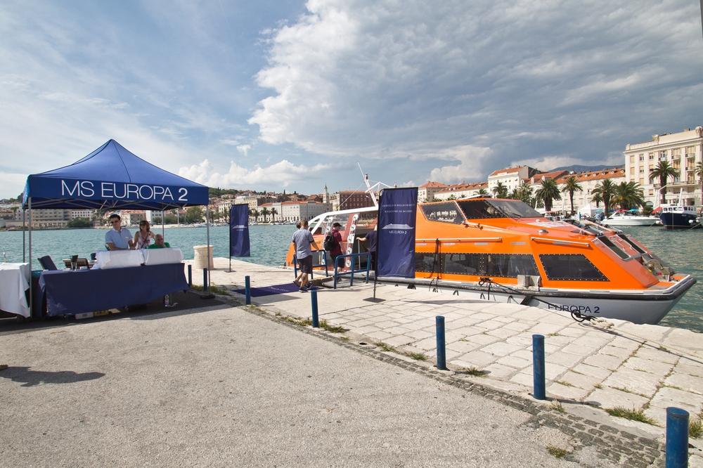 Tender Hafen MS Europa 2 Kroatien Split