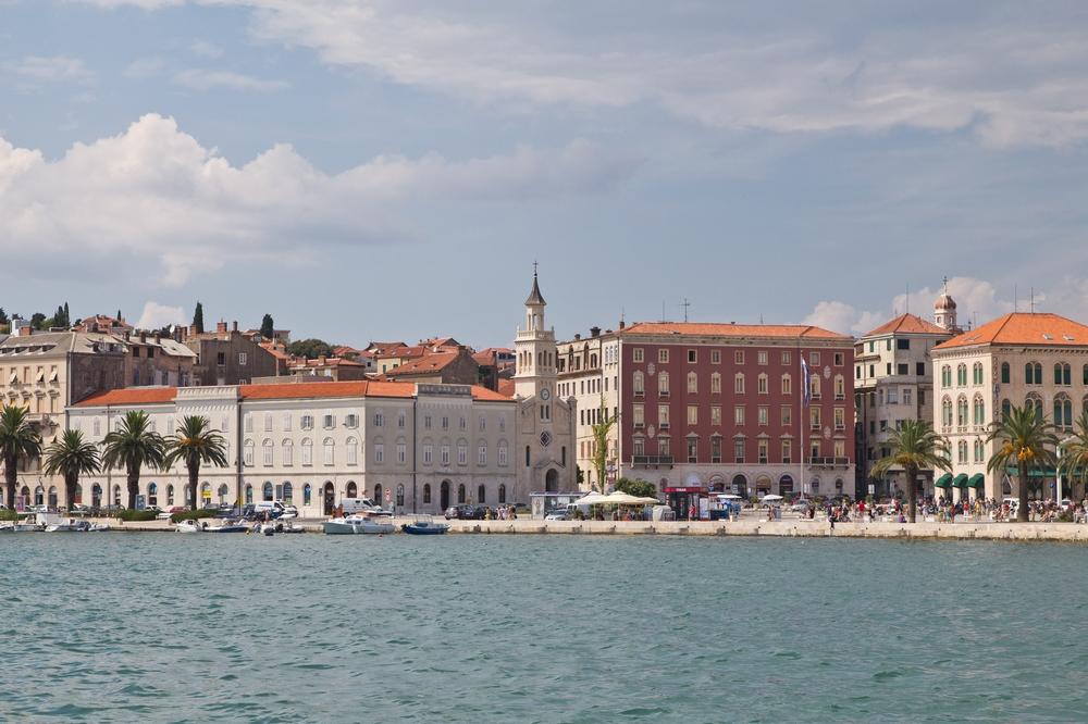 Split Altstadt Split Kroatien