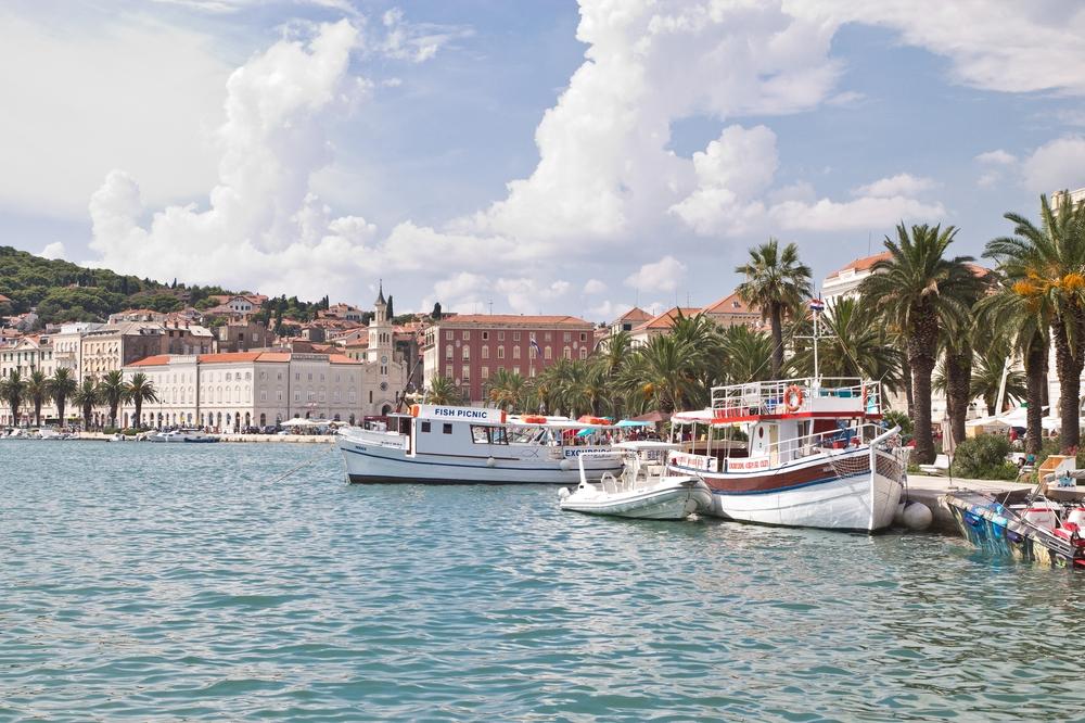 Split Kroatien Hafen Kreuzfahrt MS Europa 2