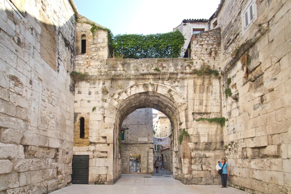 Silbernes Tor Split Kroatien