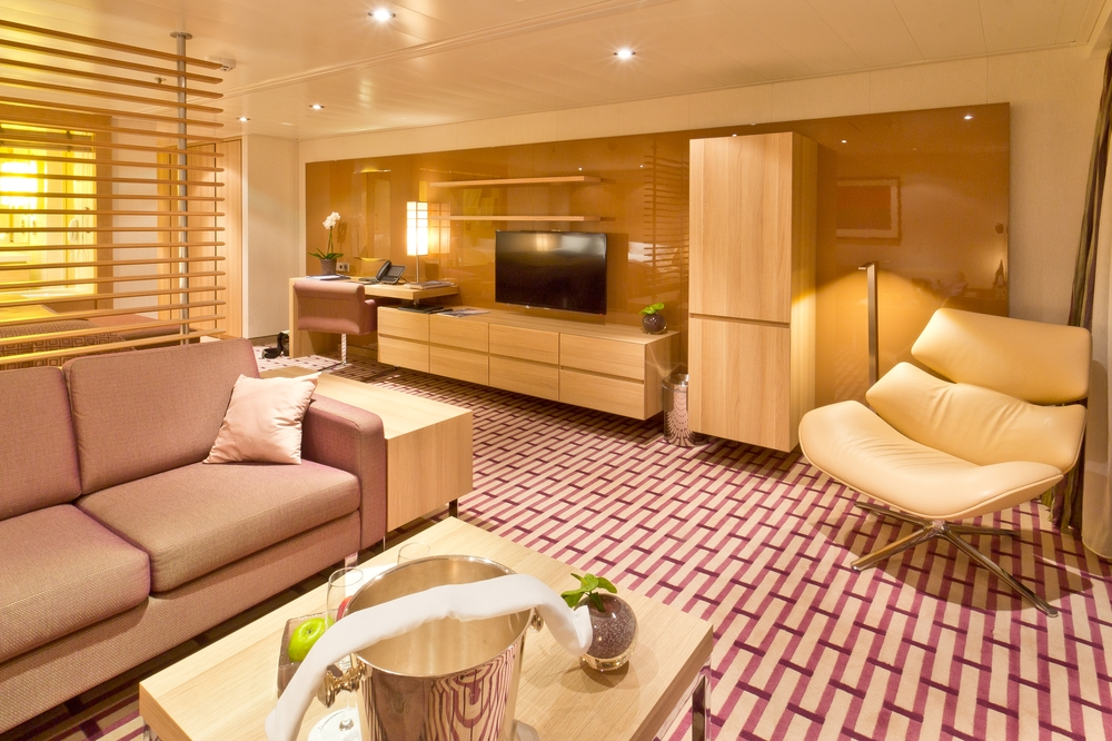 MS Europa 2 Spa Suite Grand Ocean Suite
