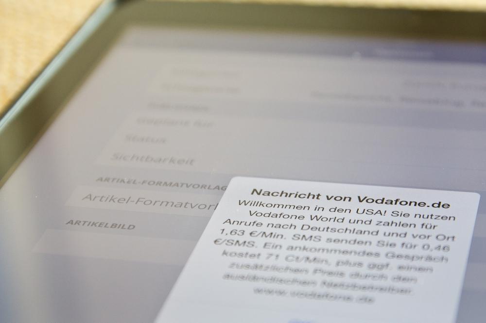 MS Europa 2 Internet Gebühren Kosten Roaming