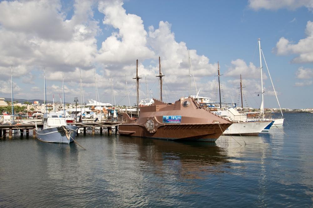 Boot Hafen Zypern Paphos