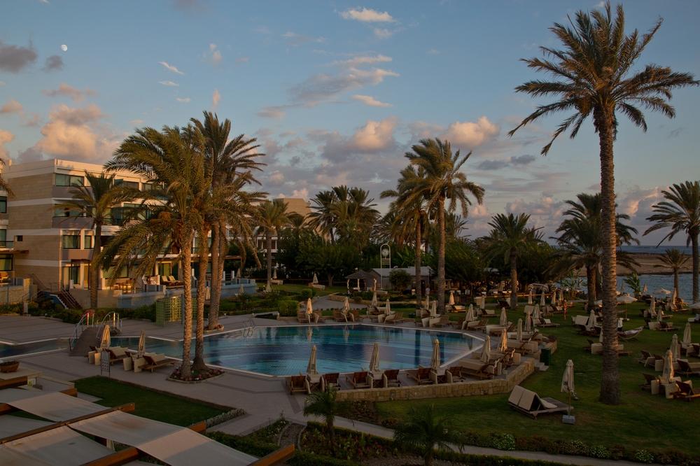 Sonnenuntergang Paphos Zypern