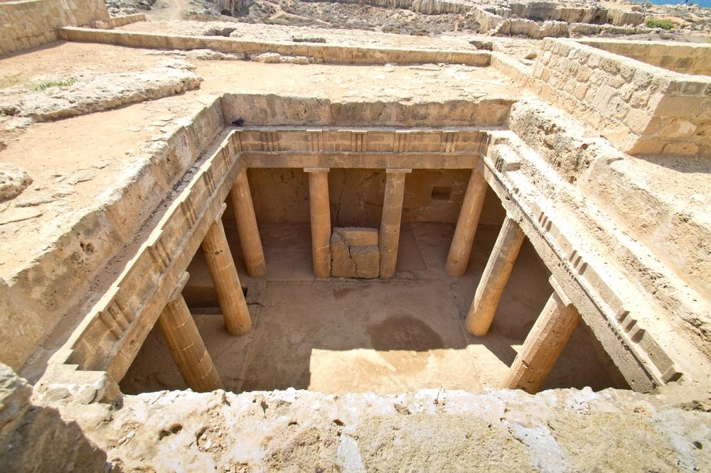 Paphos Zypern Königsgräber Grab 3 UNESCO