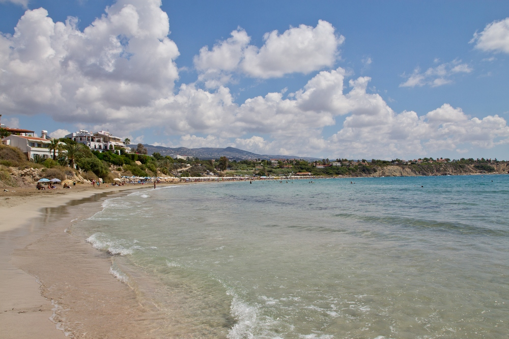 Coral Bay Strand Zypern Paphos Rundreise